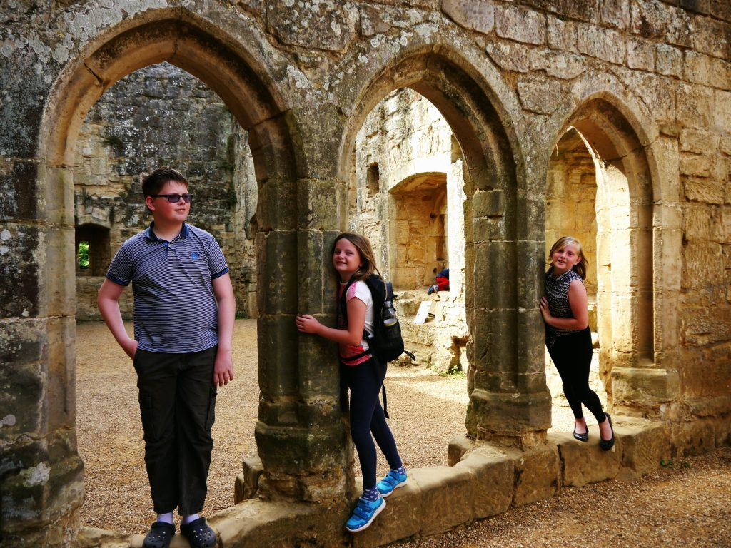 fun at Bodium Castle