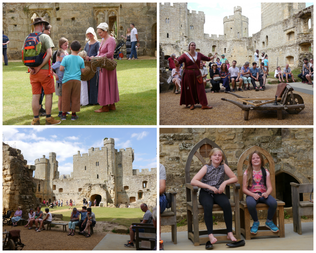 living history bodium castle